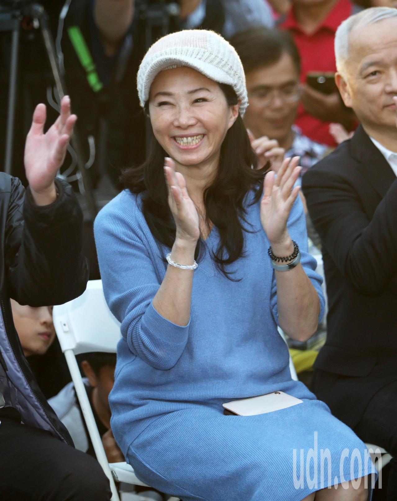 新任高雄市長韓國瑜妻子李佳芬。記者劉學聖/攝影
