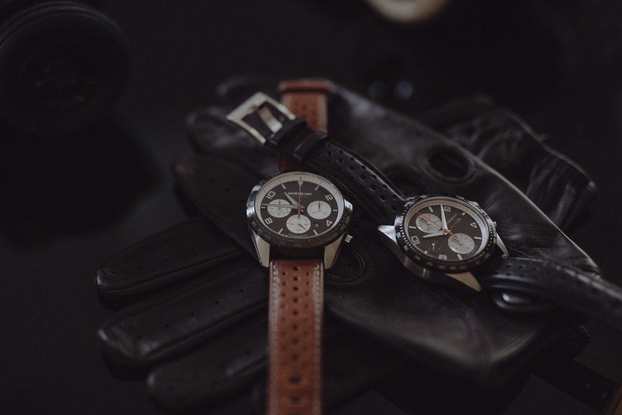 萬寶龍TimeWalker系列計時碼表,表徑43及41毫米,皆搭載自製機芯,價格...