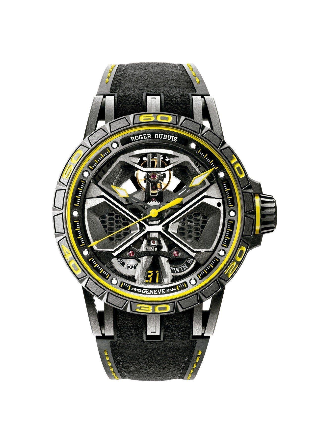 羅杰杜彼Excalibur Huracàn Performante腕表,鈦金屬...