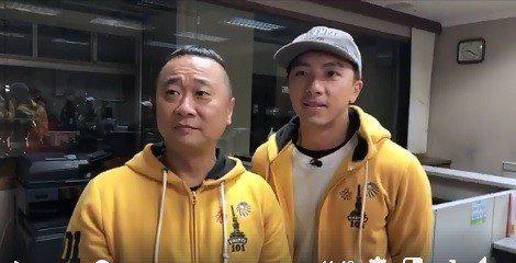 邰智源(左)回應跨年電競被罵翻一事。圖/摘自臉書