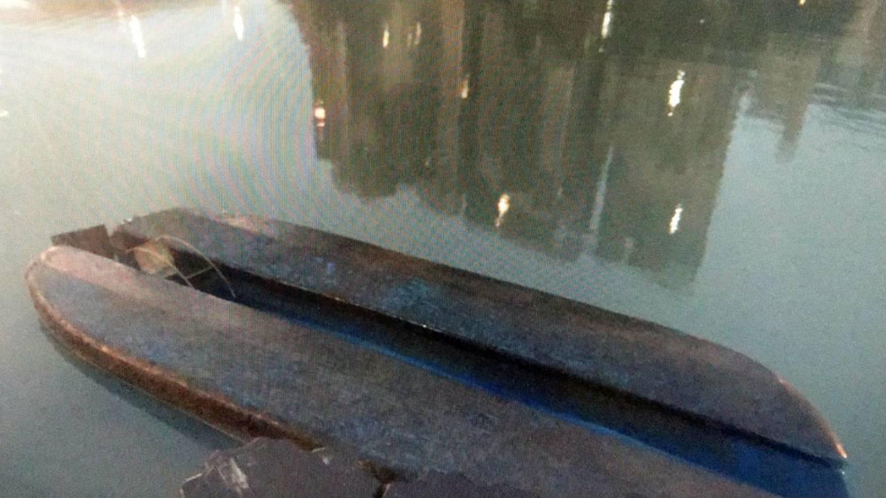 15歲陳姓少年打算在天鵝船上拍照,船卻翻覆導致他溺斃。記者袁志豪/翻攝