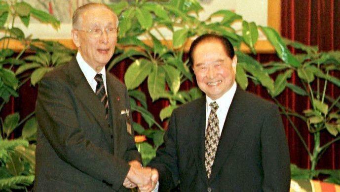 1993年4月27日辜汪會談,雙方都同意一個中國。 (觀察者網)