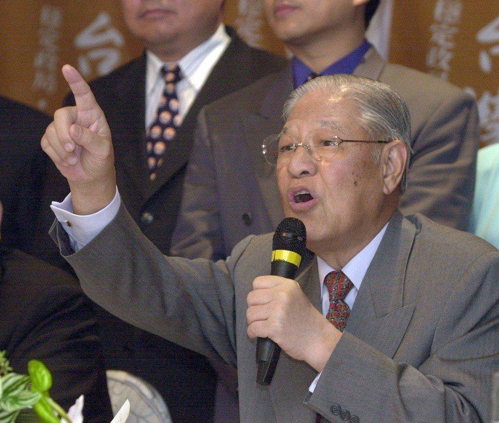 李登輝於1999年7月提出兩國論,震撼台海。 圖/聯合報系資料照片