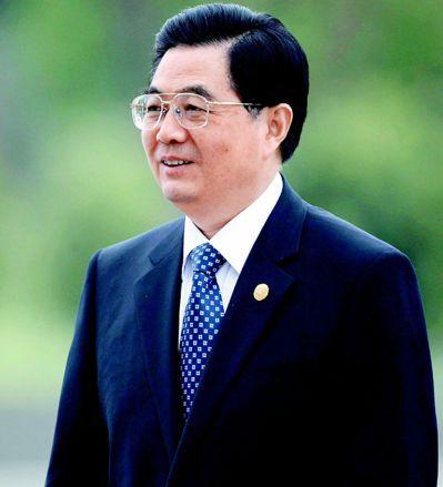中共前國家主席胡錦濤。 (歐新社)