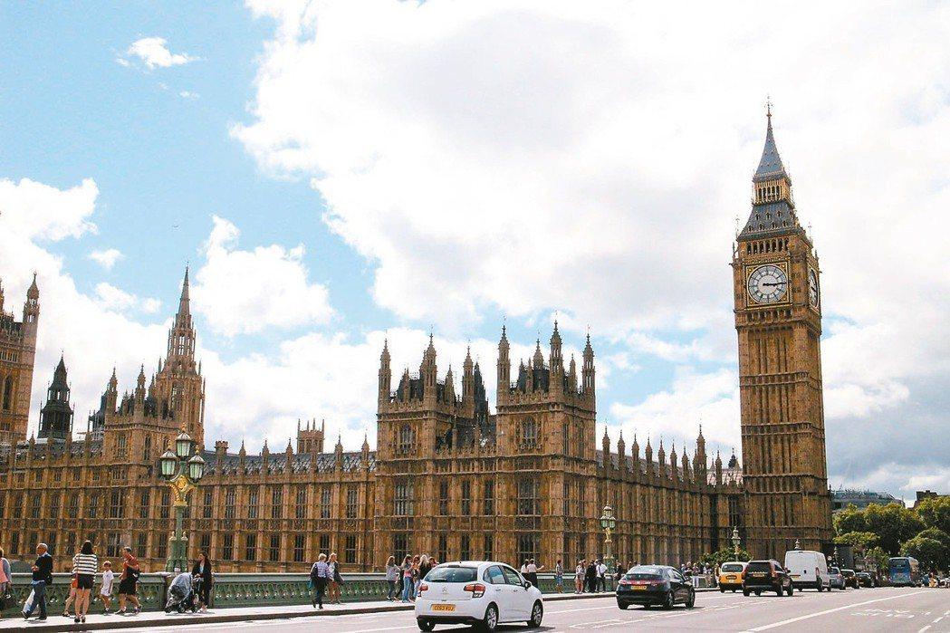 大笨鐘是英國知名的景點。本報系資料照