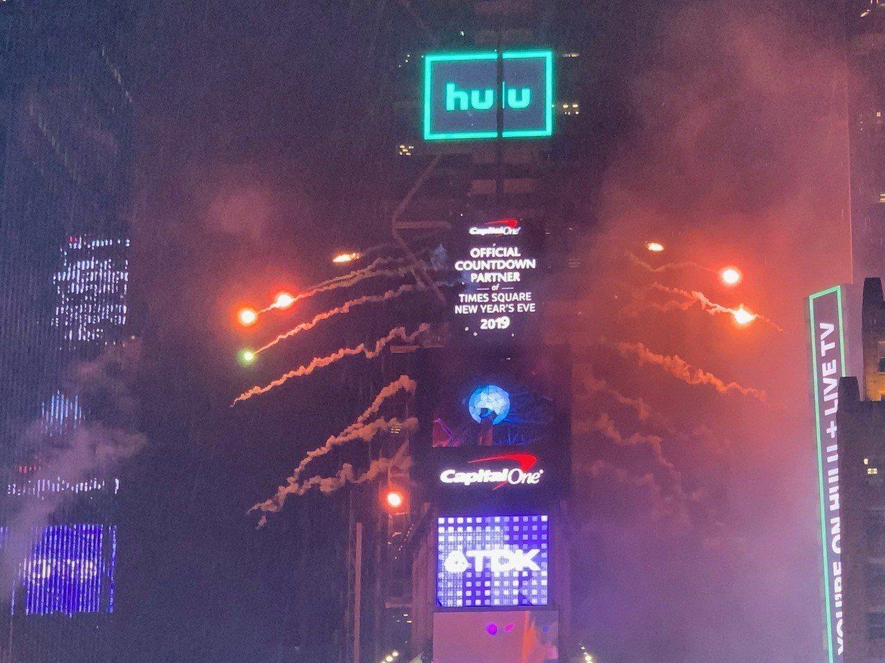 重慶「銅梁龍舞」 第二度亮相時報廣場跨年慶典 攝影/和釗宇
