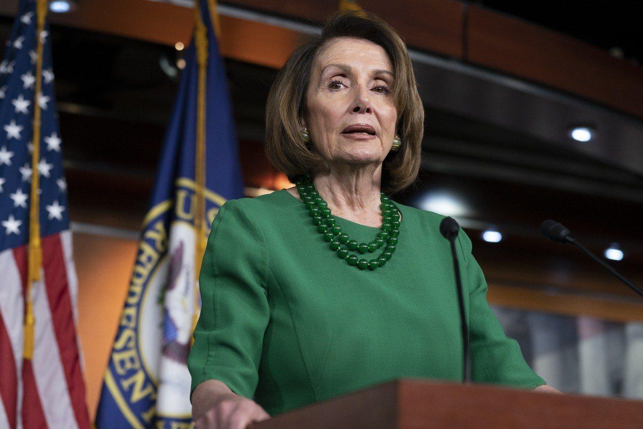 新任議長波洛西(Nancy Pelosi希望盡快讓聯邦政府恢復運作,並且推進民主...