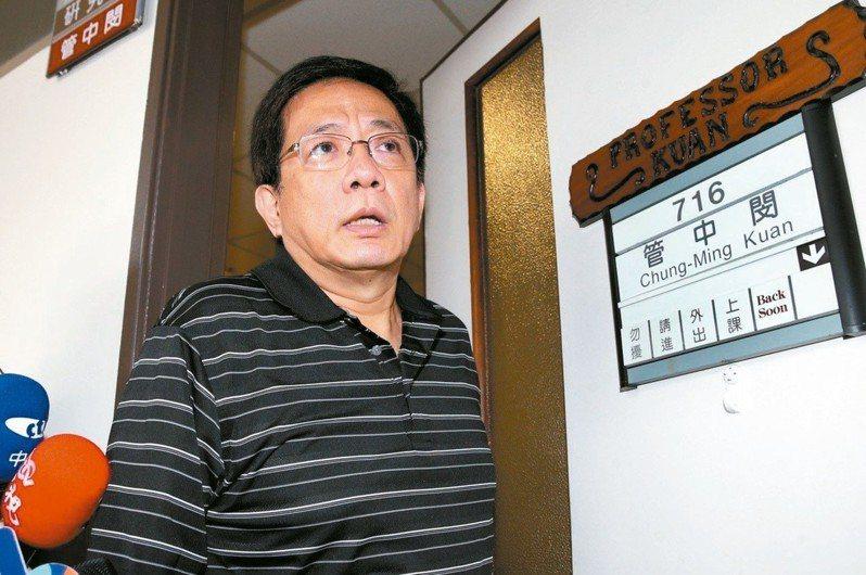 教育部聘任管中閔為台大校長,爭議還在延燒。圖/聯合報系資料照片