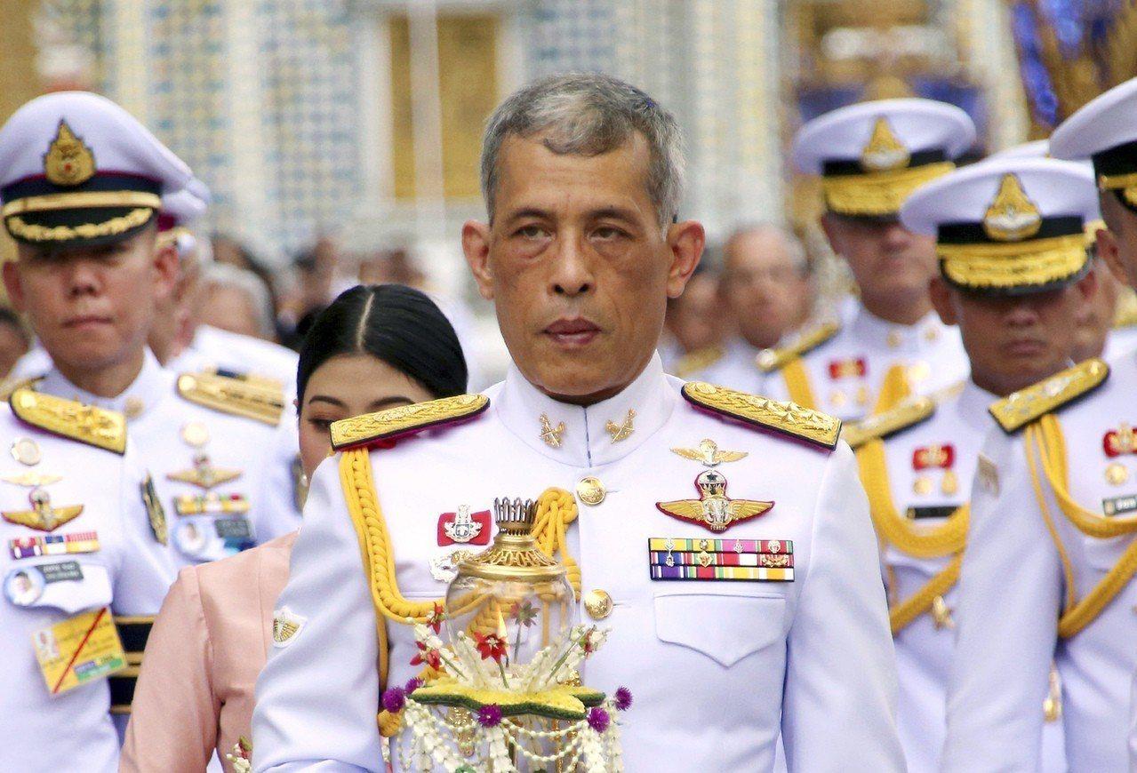 瓦吉拉隆功的加冕儀式將在5月4日舉行。 美聯社