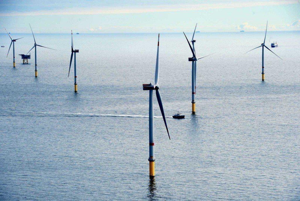 離岸風電開發商希望搶在明天取得彰化複審同意函。 聯合報系資料照