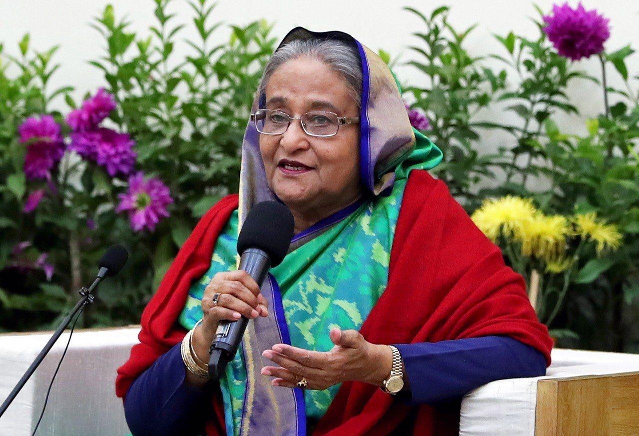 孟加拉總理哈希納以壓倒性勝利贏得國會大選。 歐新社