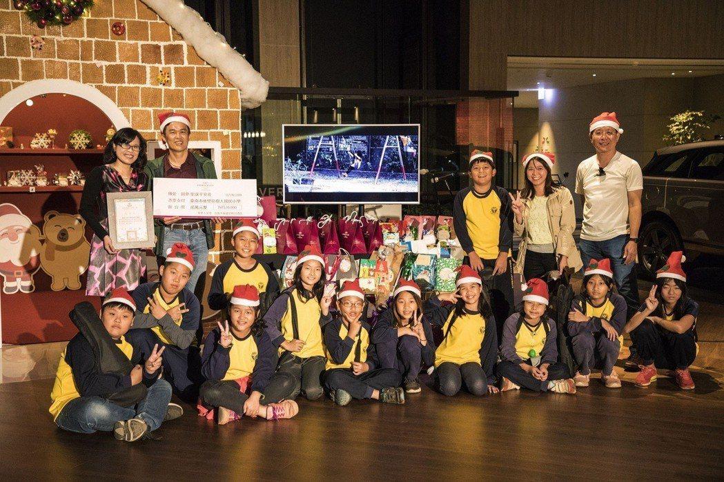 台南大員皇冠假日酒店幫助後壁區偏鄉小學 64位學童,讓偏鄉學童也能度過一個特別且...