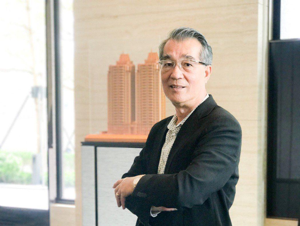 皇苑建設選後到年底賣了22戶,董事長郭敏能忍不住說,「韓流真強大。」 攝影/張世...