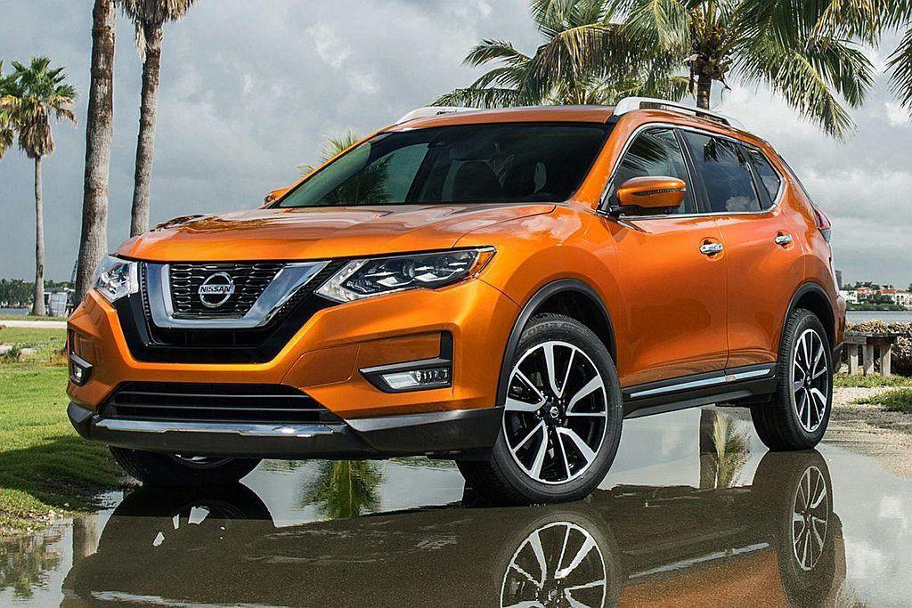 Nissan Rogue於2018年累計銷售45.4萬輛排名第九。 圖/Niss...