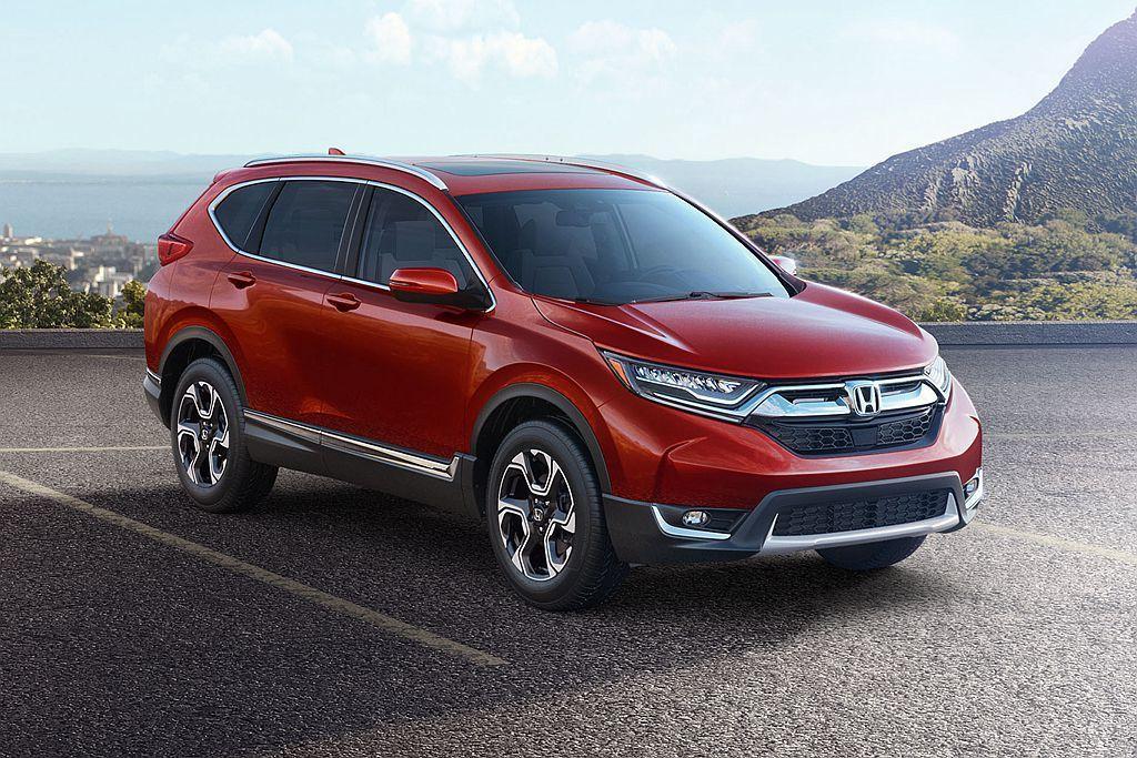 台灣市場相當熱賣的Honda CR-V,2018年全球銷售表現略衰退2.3%,共賣出74.1萬輛排名第三。 圖/Honda提供