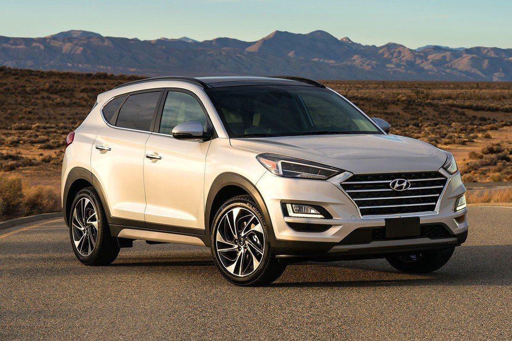 就算二、三名次波動,Hyundai Tucson依舊不為所動以56.9萬輛銷售成績持續排行第四。 圖/Hyundai提供