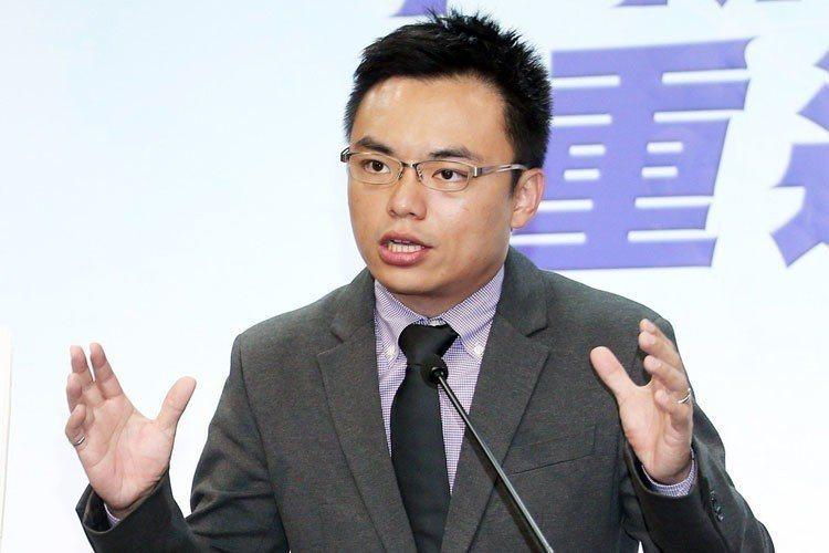 國民黨發言人洪孟楷(圖)看完口譯哥解釋,表示拳頭都硬了。 圖/聯合報系資料照片