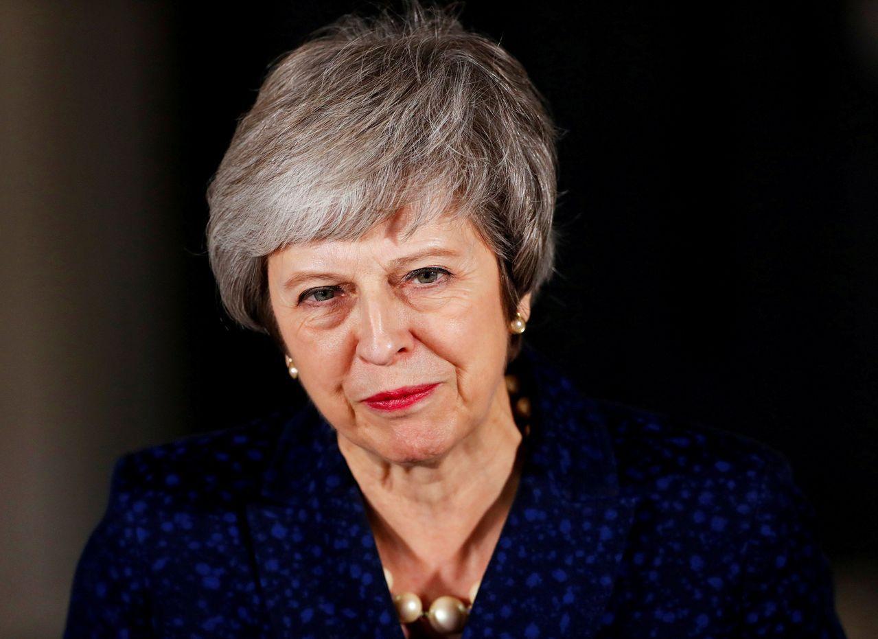 英國國會再過2天即將表決脫歐協議,可能慘遭滑鐵盧的首相梅伊(Theresa Ma...