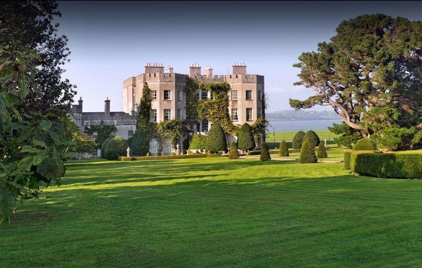格林城堡景致優美。圖/摘自官網