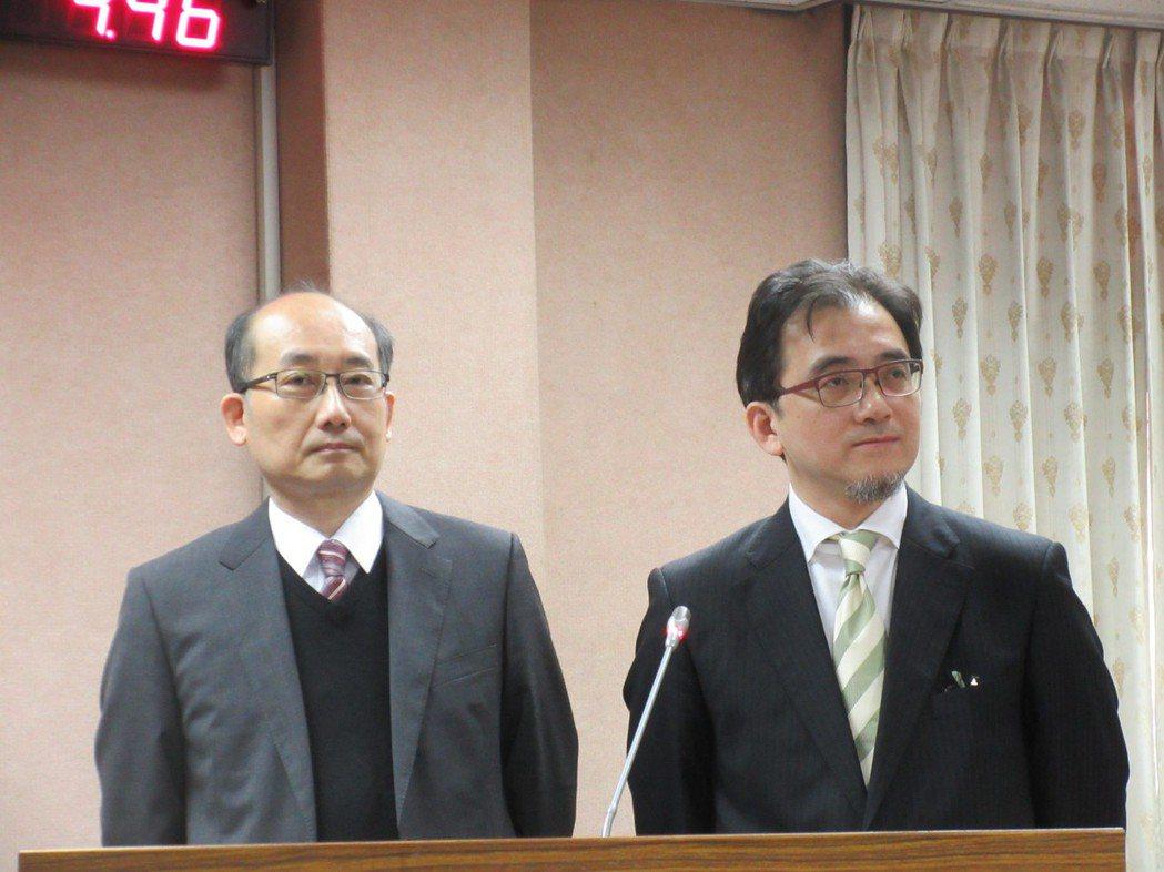 劉建忻(右)。圖/聯合報系資料照片