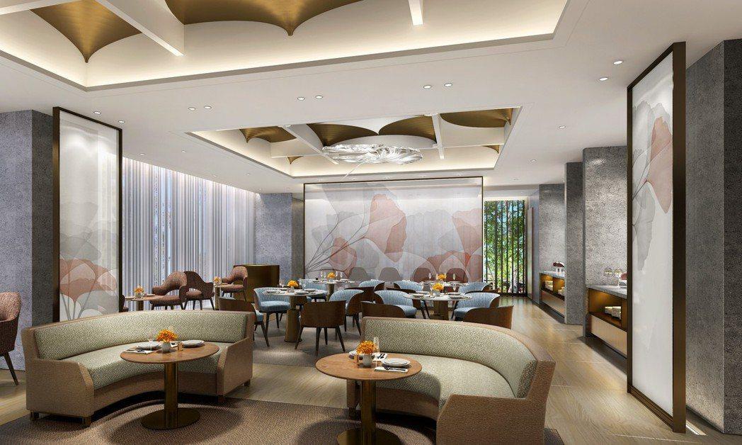 台北中山逸林酒店-Alley麗全日餐廳。