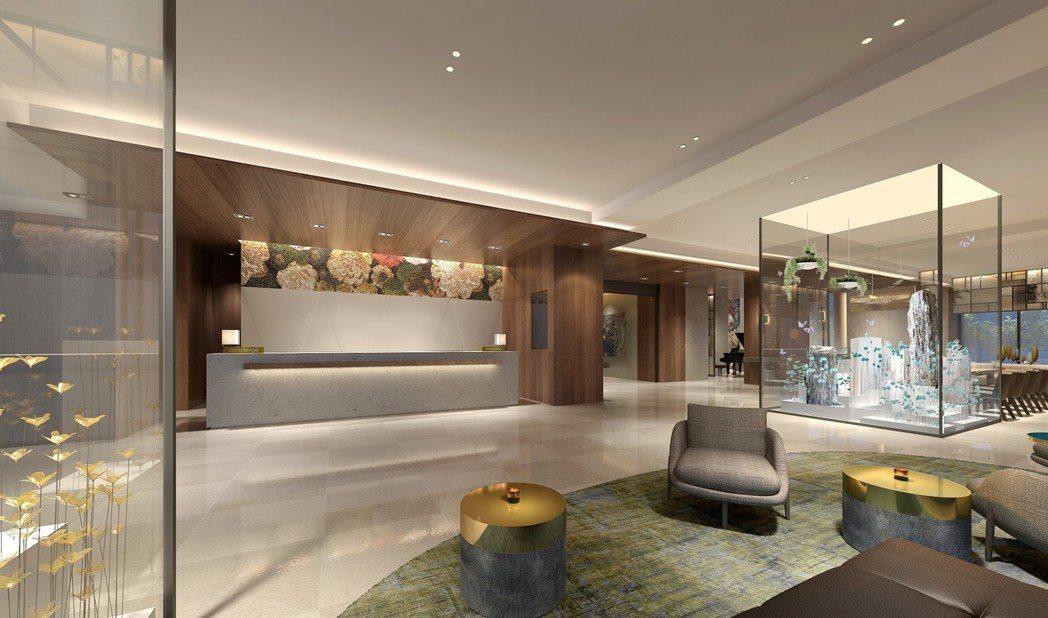 台北中山逸林酒店-大廳。