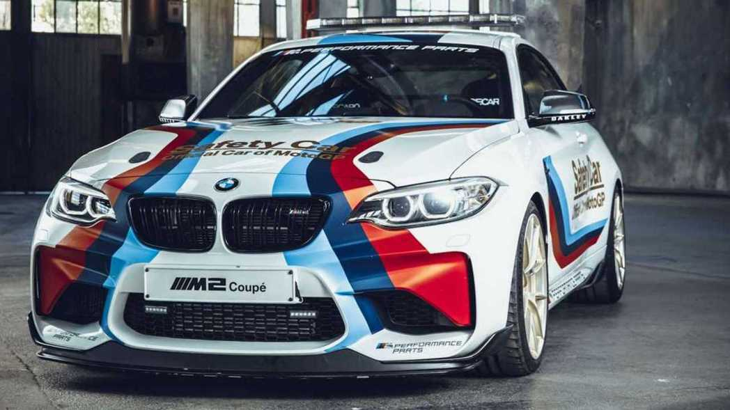 BMW M2 Safety Car。 摘自BMW