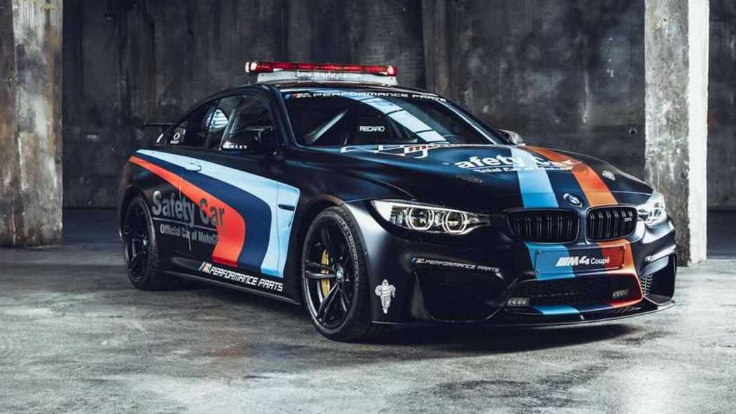 BMW M4 Coupe Safety Car。 摘自BMW