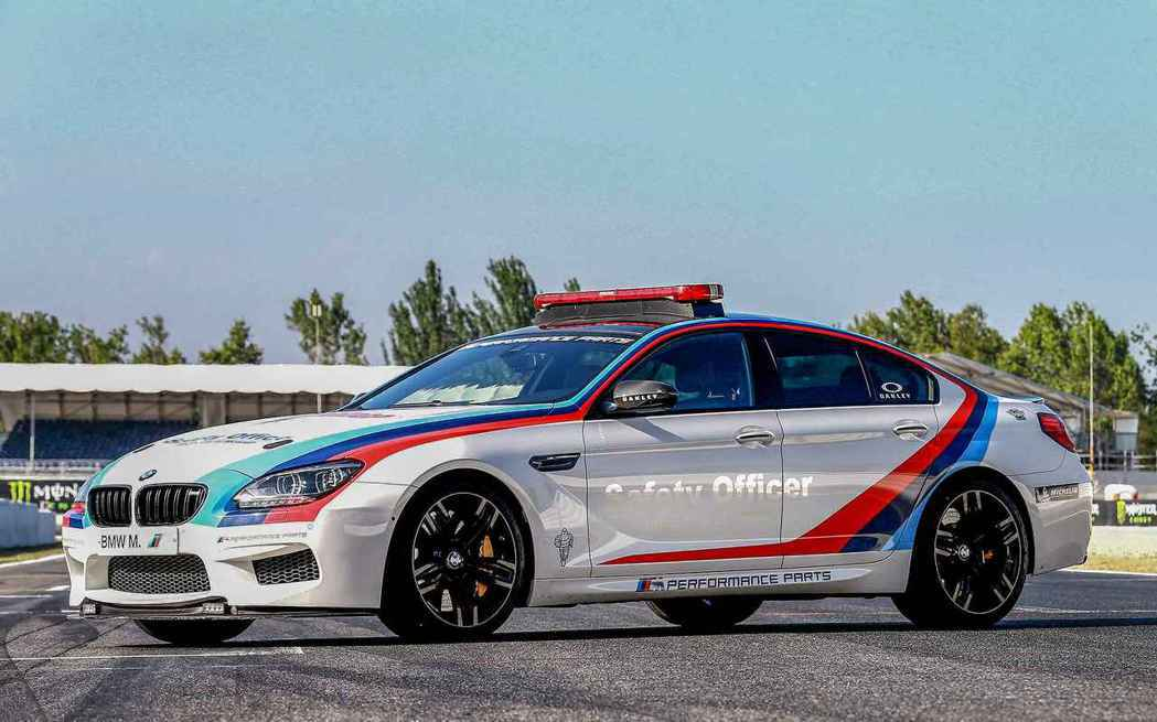 BMW M6 Coupe Safety Car。 摘自BMW
