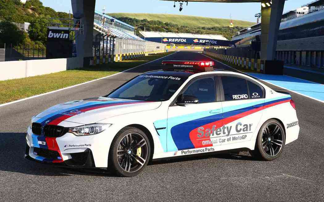 BMW M3 Safety Car  摘自BMW