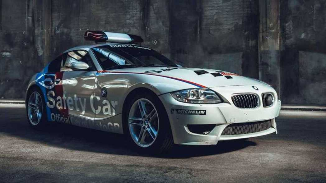 BMW Z4 M Coupe Safety Car。 摘自BMW