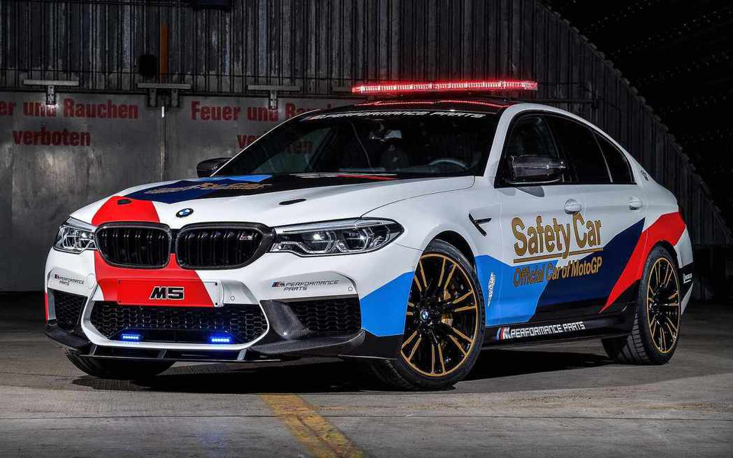 BMW F90 M5 Safety Car。 摘自BMW