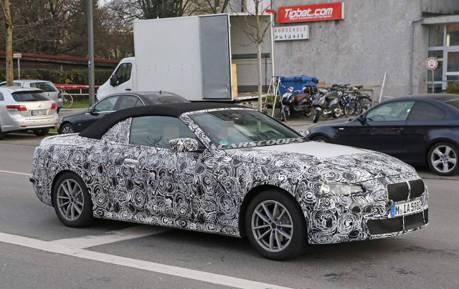 第二代BMW 4-Series Convertible內裝無偽裝曝光 還是G世代最對味!