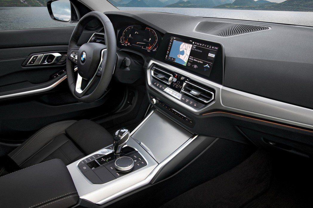 新世代BMW 3-Series內裝。 摘自BMW