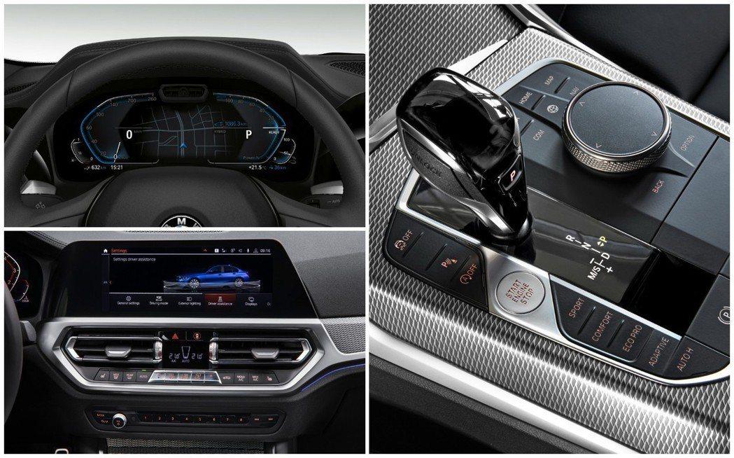 全新BMW 3-Series內裝已經改走間約科技風,簡而言之即是BMW G世代車型的內裝樣貌。 摘自BMW