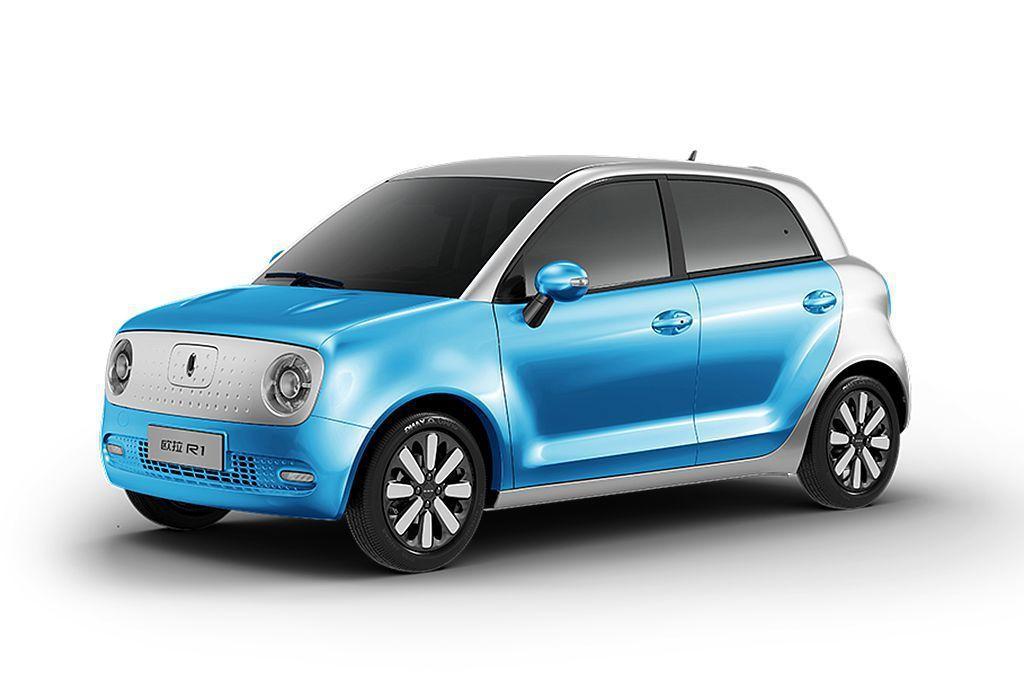 歐拉R1概念車推出的時間比Honda Urban EV Concept概念車還晚...