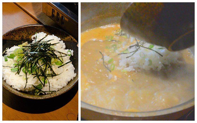 (圖/台灣旅行趣) ▲最後的湯底別浪費,店家還會提供白飯,煮成一鍋極鮮的龍蝦粥。