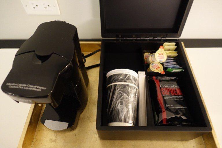 房間裡面只有咖啡機沒有小冰箱 圖文來自於:TripPlus