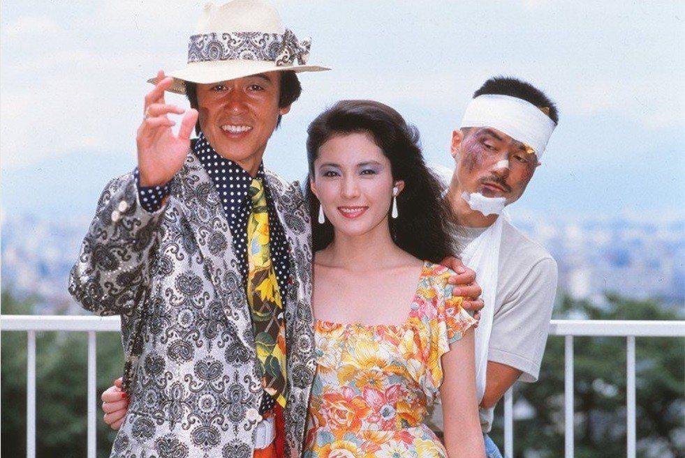 風間杜夫(左起)、松坂慶子、平田滿在「愛之物語」有糾結的感情戲。twitter