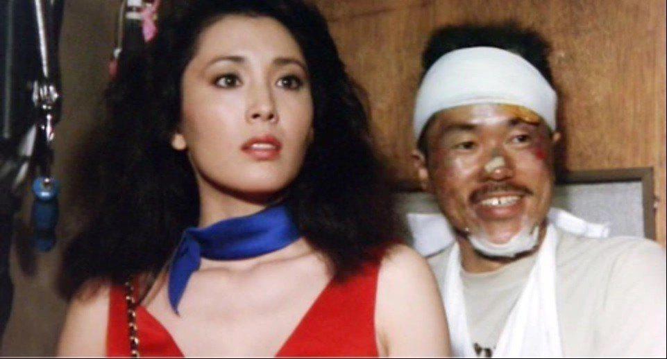 松坂慶子與平田滿在「愛之物語」是標準的美女配醜男。圖/摘自ameblo.jp