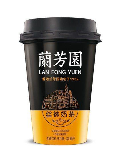 蘭芳園絲襪奶茶,售價69元,全家便利商店獨賣。圖/全家便利商店提供