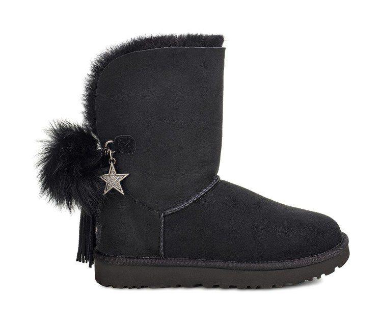 星星裝飾Charm Boot,9,500元。圖/UGG提供