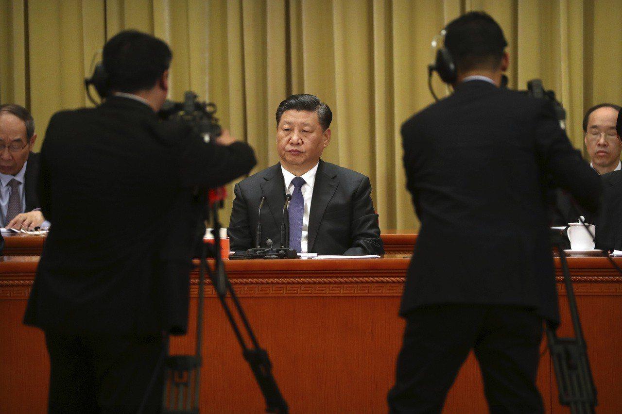 大陸國家主席習近平2日在《告台灣同胞書》40週年紀念會上發表對台談話。美聯社