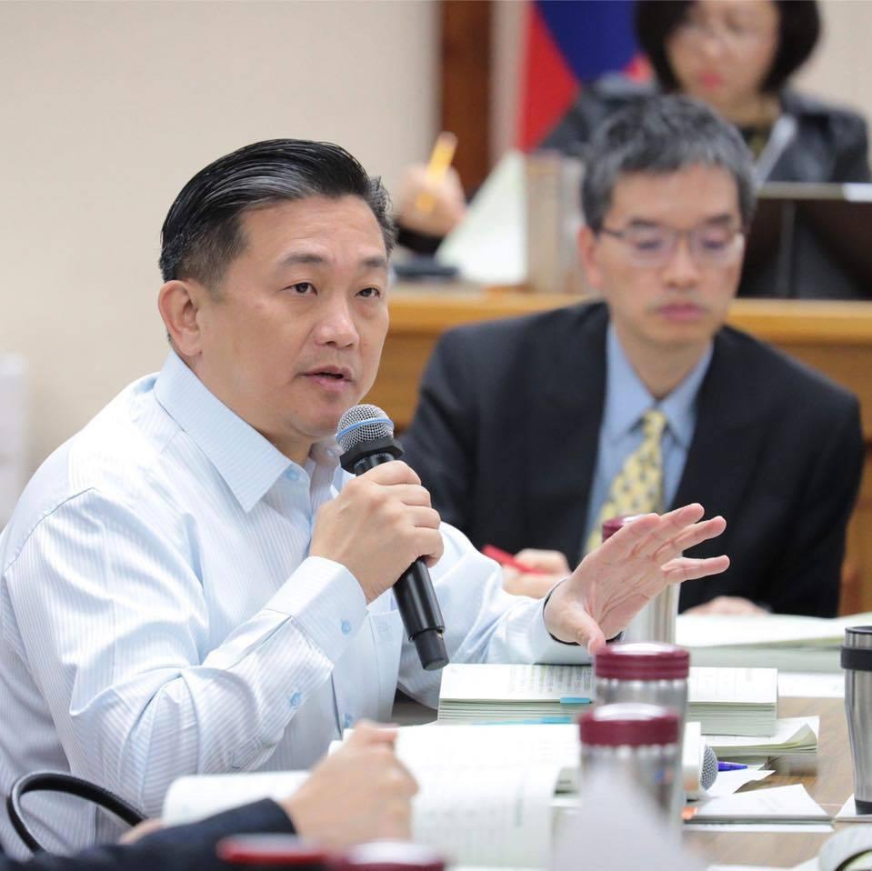 民進黨台南市議員王定宇表示習近平的談話重點就是「老套」。記者綦守鈺/翻攝