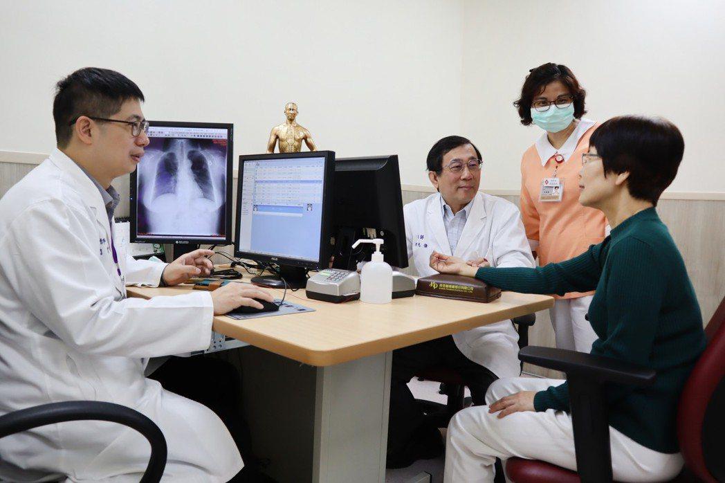馬偕醫院成立癌症中西醫整合門診,期帶給癌症患者更全面性醫療。圖/馬偕醫院提供
