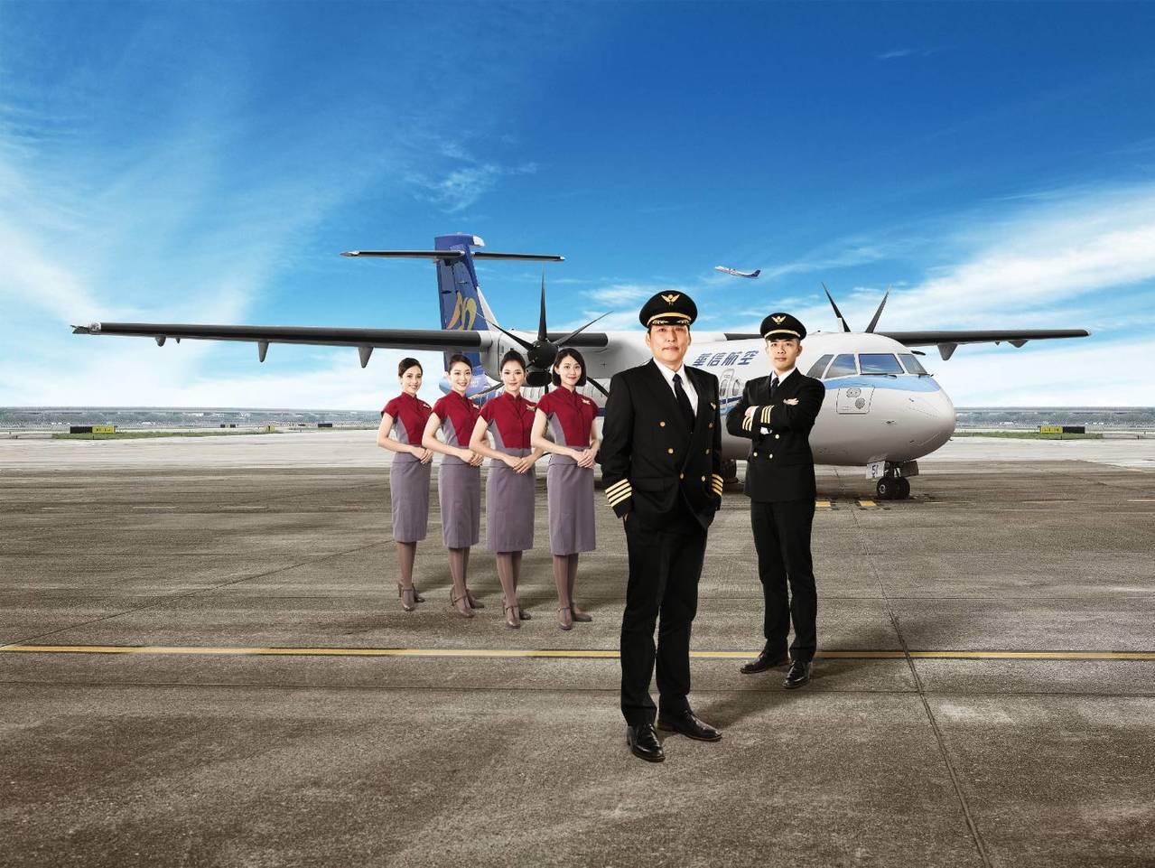 華信航空因應ATR72-600新機引進,配合機隊營運需求,2019年度將招募20...