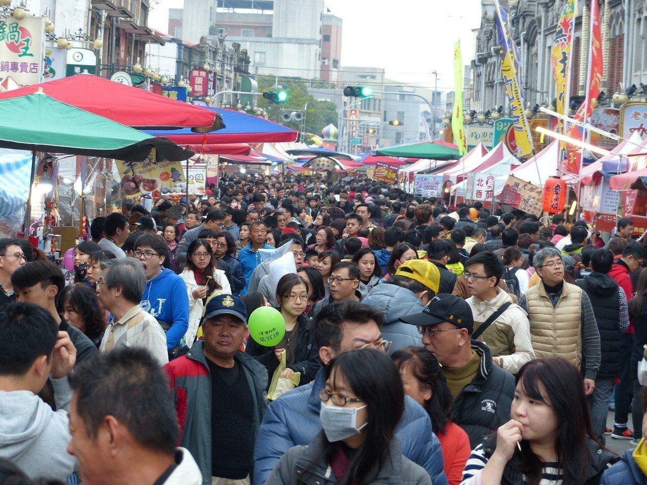 2019新化年貨大街今年邁入第8年,即將在1月26日到2月2日登場。圖/新化區公...