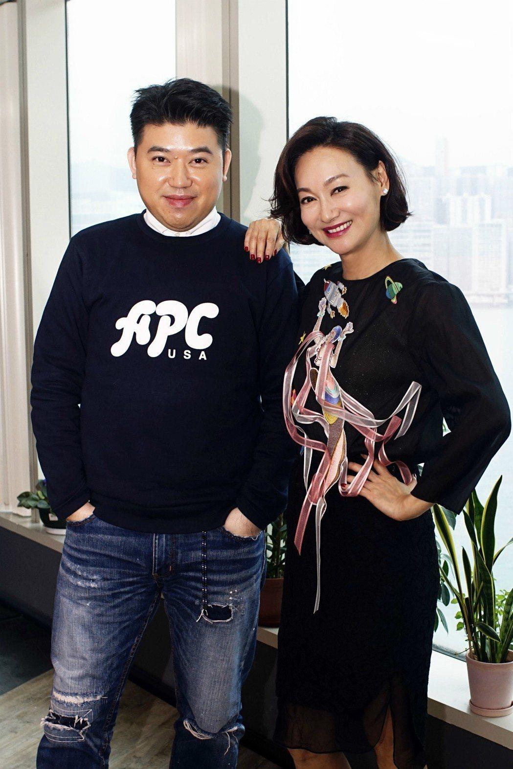 葉念琛為說服惠英紅演「心冤」,特別請吃鮑魚。圖/福斯傳媒提供