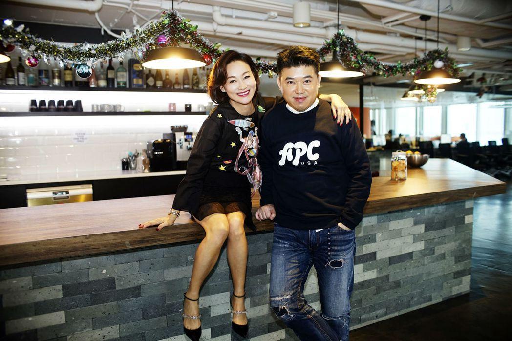 惠英紅與葉念琛合作最新警匪影集「心冤」。圖/福斯傳媒提供