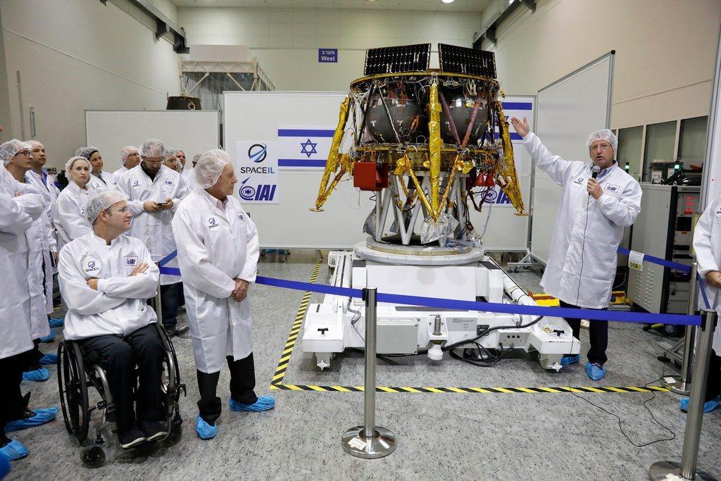 以色列私人公司SpaceIL,預計在2月中展開登月任務。 (歐新社)
